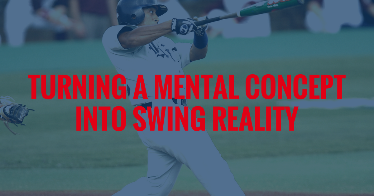 turning a mental concept into swing reality
